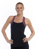 Crossfit Top Committed Maroon/Black Front