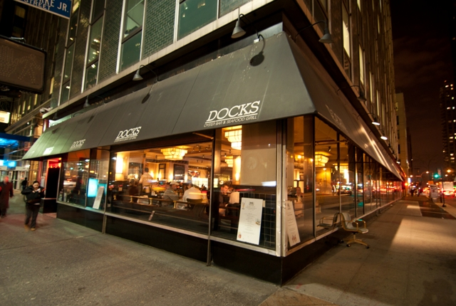 Docks restaurant in midtown, NYC