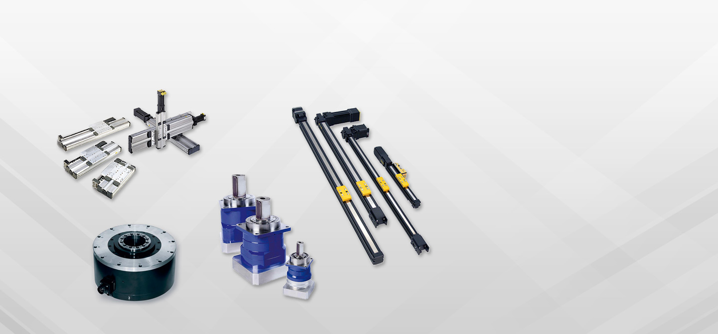 Positioning Stages and Actuators with Direct Drive Motor and Gearheads