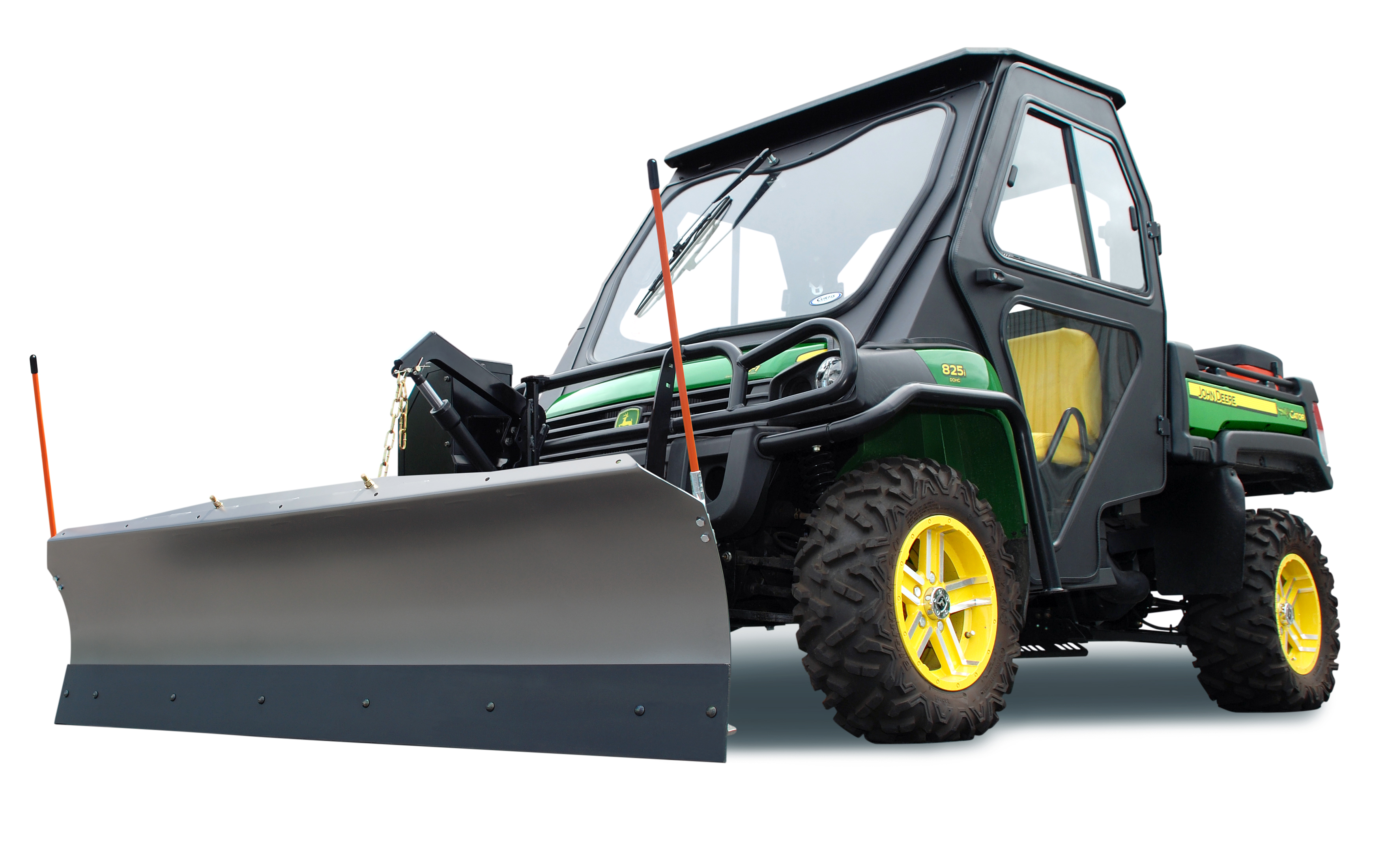 John Deere Gator Plow >> New Utility Vehicle Snow Plow