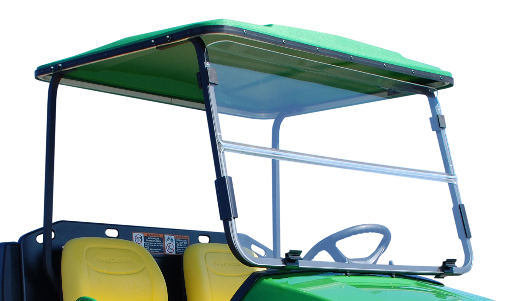 John Deere 100 Series Canopy : Plows spreaders canopies and attachments broadcast autos