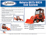 Kubota BX25-BX24 Sell Sheet