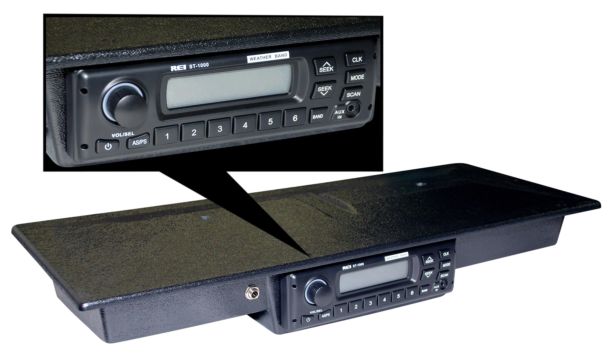 AM/FM Console Radio