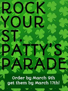 St. Patrick's Day Custom Slides