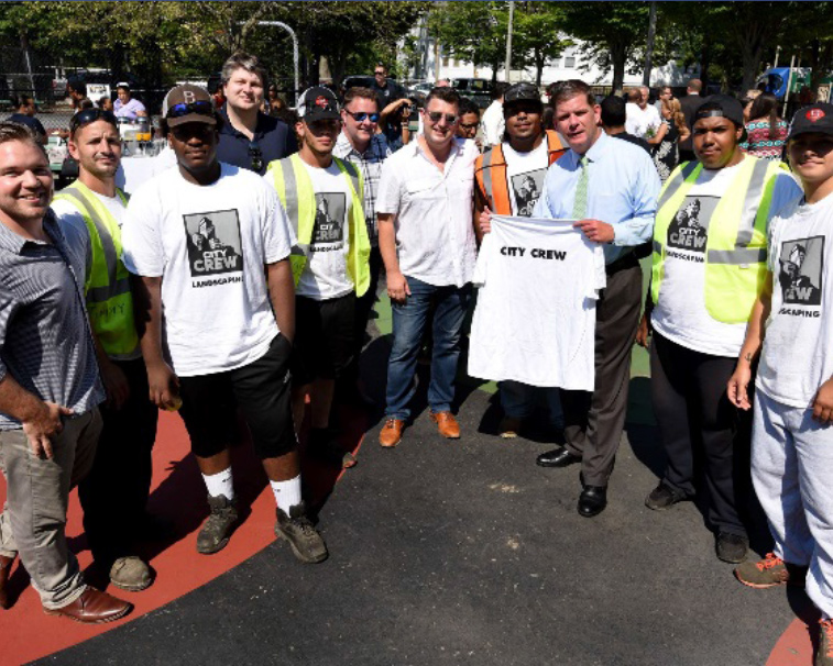 City Realty Group, a commercial and residential real estate broker, cleans up the city of Boston at the Boston Shines project.