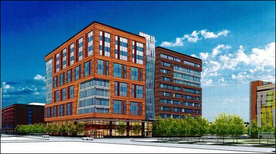 This 11 Story, 525,00 Square Foot Office Building Is Being Developed In The  Highly Desirable Fort Point Channel Area. It Will Be Divided Into Two  Shifted ...
