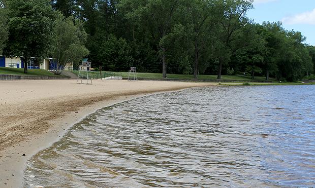 Beachfront at Chicopee State Park