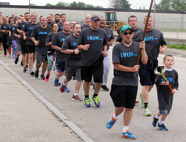 Runners near the Hillsborough County House of Corrections
