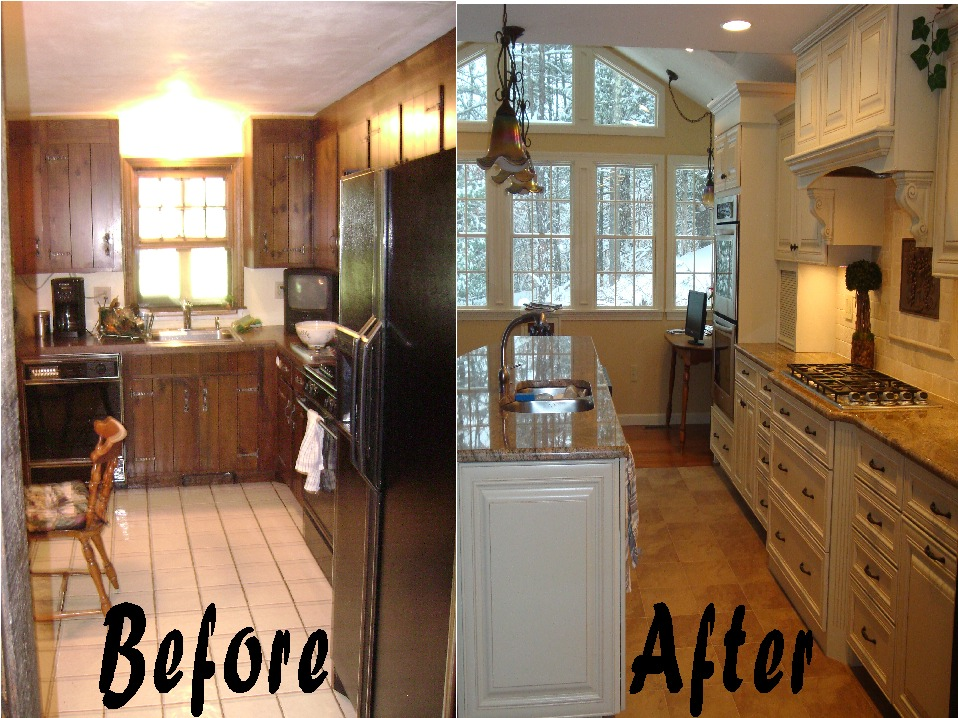 Remodel Kitchen Before And After remodel kitchen before and after - dl fg kitchen before the best