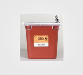 McKesson Multi Purpose Sharps Container Medi-Pak 2-Piece 2 Gallon