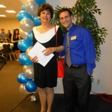 GWArc CEO Roz Rubin was  the Community Partner Guest Speaker at Brandeis University's Celebration of Service event in April, 2015.