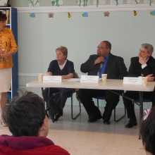 GWArc hosted Pamela Jones and Mark Johnson of the Waltham Disability Services Commission as well as City Councilor Stephen Rourke for a City Leaders Forum.