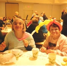 Attendees enjoy a delicious buffet breakfast, music and lots of family entertainment at our fun, festive 47th Annual Harvest Breakfast in October.