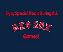 Burger and Bud $10 During Red sox Games