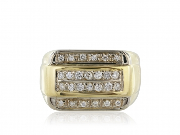 .55ct Gents Diamond Ring