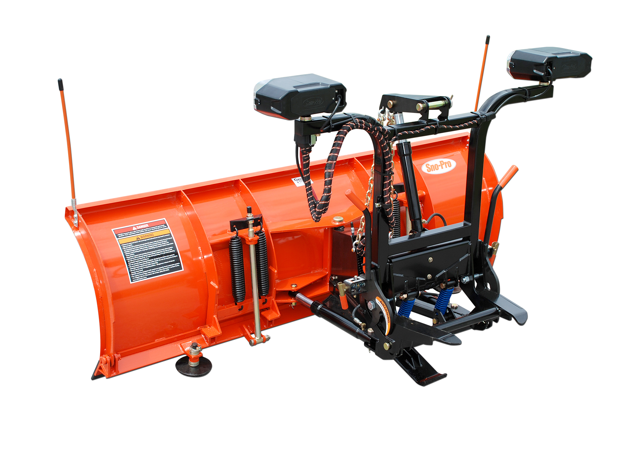 sno pro snow plows hide away mount clean and professional describes our remaining receiver frame when the plow is removed